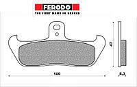 Тормозные колодки Ferodo FDB499P