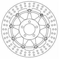 Тормозной диск Ferodo FMD0115RX