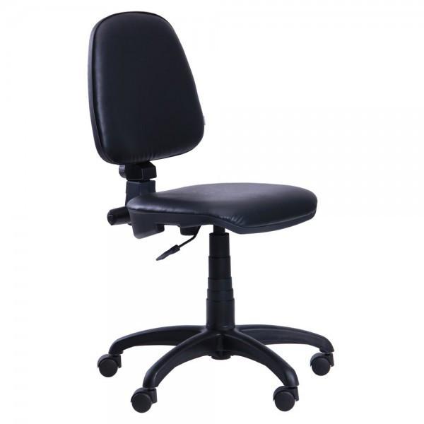 Кресло для персонала Престиж Люкс, низкая спинка, без подлокотников