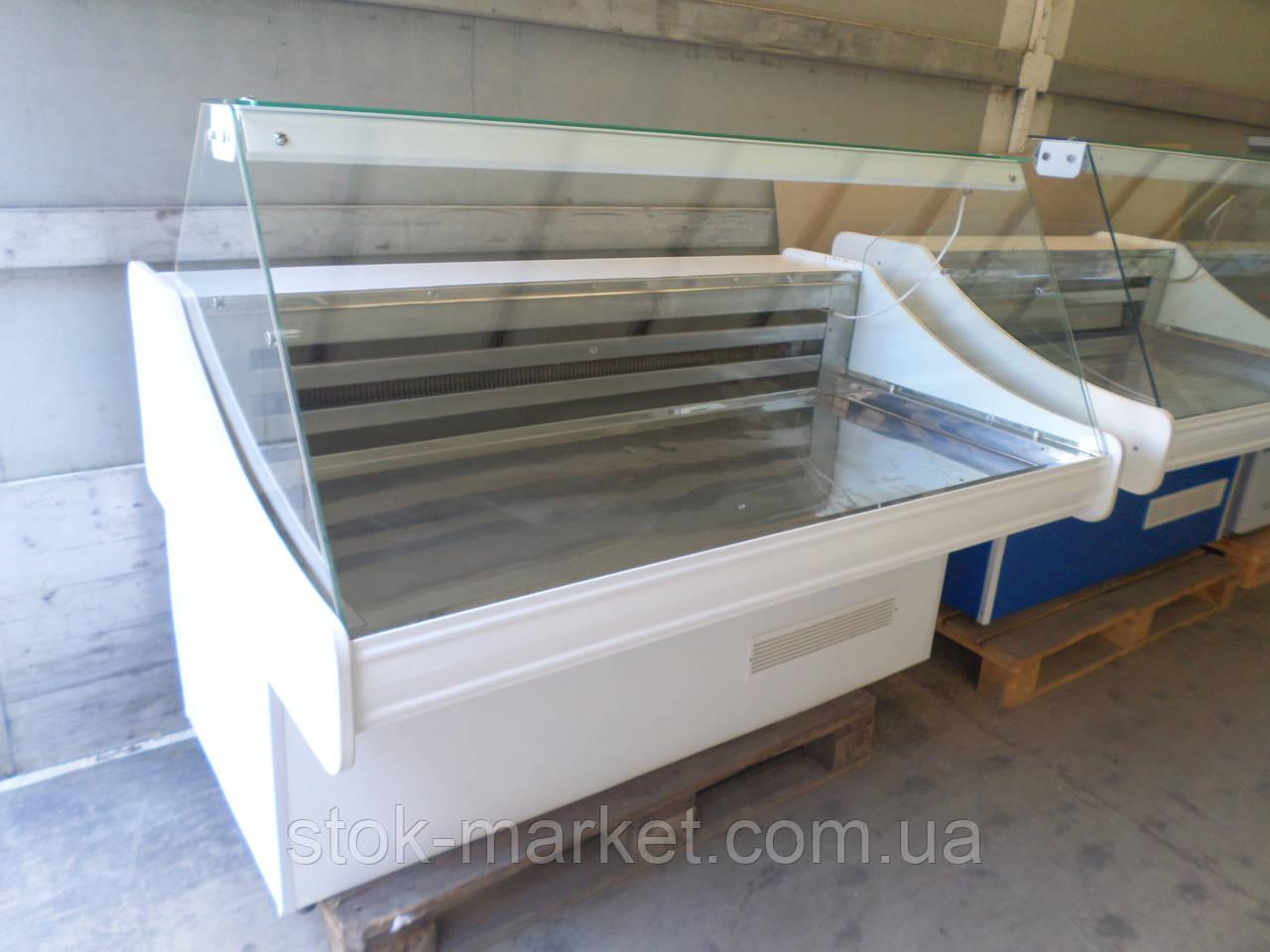 Холодильные витрины ТехноХолод 1,5 м. среднетемпературные.
