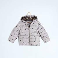 Куртка для девочки с капюшоном демисезонная +купить