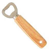 Открывашка с бамбуковой ручкой 13 см