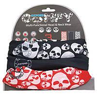 Мультифункциональный головной убор Oxford Comfy Skulls (3pk.)