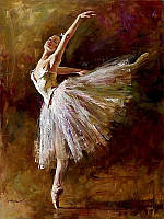 Живопись по номерам Mariposa Искусство танца  40 х 50 см