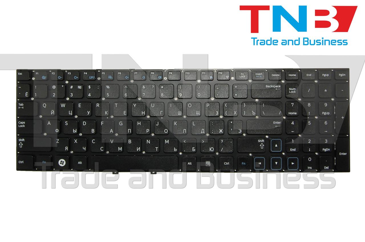 Клавиатура Samsung NP300V5A NP305V5A NP300E5A NP305E5A 300E5A 300V5A черная без рамки RUUS