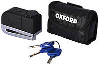 Oxford SCREAMER  Disc alarm Lock, Chrome - Хром