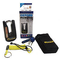 Oxford Monster Disc Lock, Black - Черный