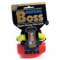Мотозамок Oxford Boss оранжевый