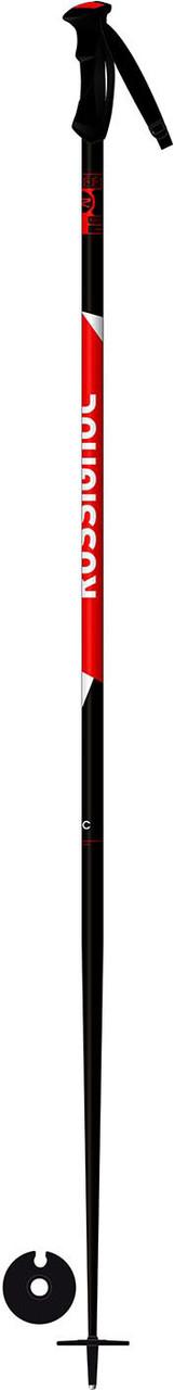 Горнолыжные палки Rossignol Tactic black/red (MD) 125