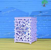 Свадебная коробка для денег, свадебный декор