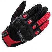 Мотоперчатки RS TAICHI Surge Mesh черный красный M