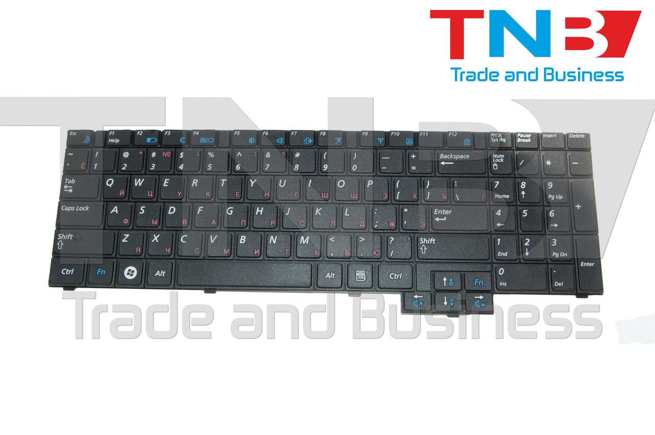 Клавиатура Samsung R523 R525 R528 R530 R538 R540 R610 R618 R717 RV508 RV510 SA31 черная RU/US
