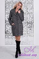 Женское зимнее пальто с капюшоном р. S, M, L, XL арт. Делфи букле зима 7518