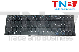 Клавиатура Samsung RC520 RV509 черная без рамки