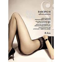 Тончайшие женские колготки с эффектом загара SISI FASCINO 8  KLG-47