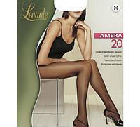 Женские капроновые колготки весна 2017 LEVANTE AMBRA 20 den KLG-98