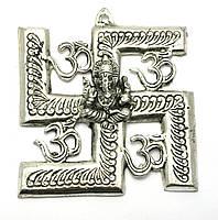 Ганеша с символом солнца (16х14,5х см) (Непал)
