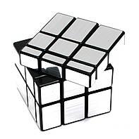 Головоломка Зеркальный Куб Серебро (6х6х6 см)