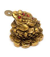 Жаба каменная крошка бронза (3,5х4х4 см)
