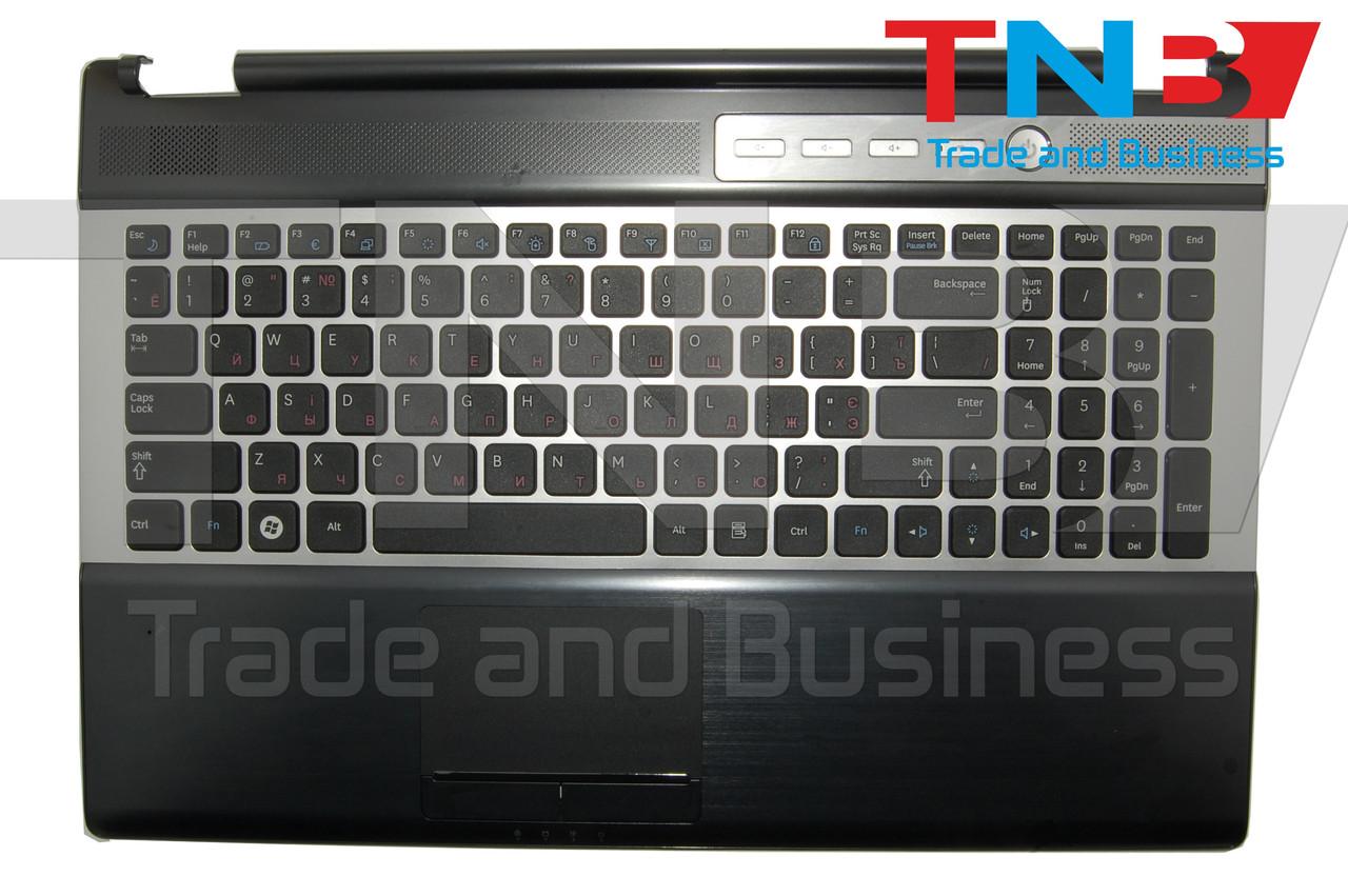 Клавиатура Samsung RF510 черная с топкейсом