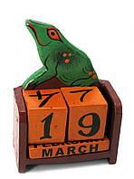 Календарь настольный Жаба дерево (17х10х5 см)