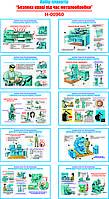 """""""Безпека праці при металообробці"""" (10 плакатів, ф. А3)"""