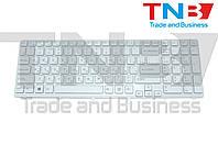 Клавиатура Sony Vaio SVE15, SVE17 Series белая с белой рамкой RU/US