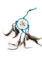Ловец снов голубой (d-6,5 см)