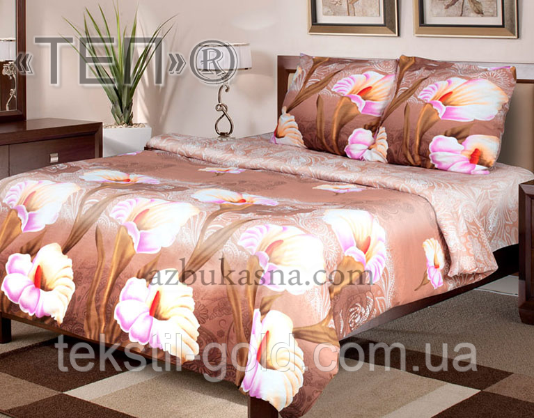 Комплект постельного белья 942 «Луиза» ТМ ТЕП (Украина) бязь Полуторный