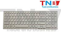 Клавиатура Sony Vaio VPC-EB БЕЛАЯ с рамкой RU/US