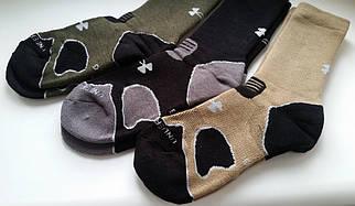 Добротные трекинговые термоноски Under Armour - hitch heavy cushion boot socks.