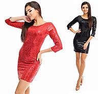 Платье Пайетка 3373, фото 1