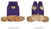 Комбинезон для животных Добаз, Dobaz Wonder фиолетовый