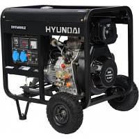 Генератор Hyundai DHY 6000 LE 3, мощность 5 кВт