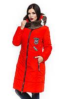 Зимняя куртка от производителя с натуральным мехом .