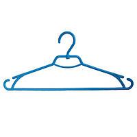 """Вешалка для одежды """"Лиза"""" голубого цвета"""