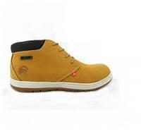 Ботинки BUSTAGRIP BGZ-031YEL (нубук, кожа, шкіра, черевики)