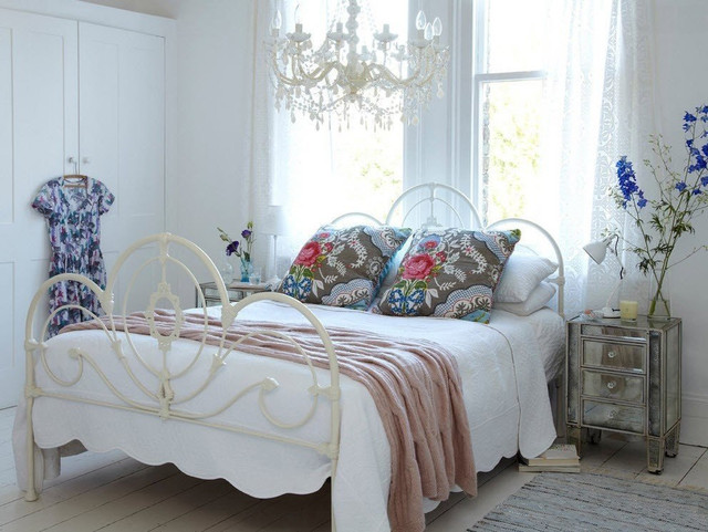 Стиль шебби шик в спальне – романтичный интерьер
