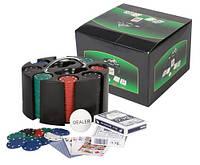 Набор для покера в черной картонной коробке