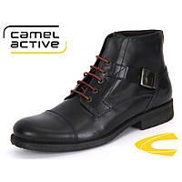 Ботинки Camel Active 357.15.02 черные, Размер Eur 40.5