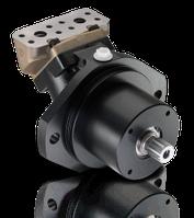 Гидромотор Sunfab SCM 025-108 M2 аксиально-поршневой