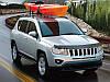 Хромові накладки на дзеркала Jeep Compass 2007-14 нові оригінальні, фото 3