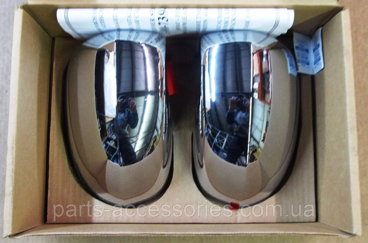 Хромові накладки на дзеркала Jeep Compass 2007-14 нові оригінальні