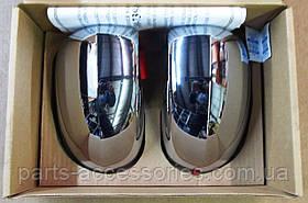 Хромовые накладки на зеркала Jeep Compass 2007-14 новые оригинальные