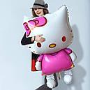Фольговані кульки Кітті 80*47 см, фото 2