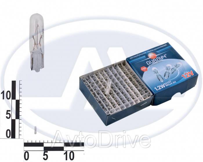 Лампа W1,2W 12В 1,2Вт W2х4,6d, подсветка панели приборов, доп. стоп-сиг, бесцок. мал. - AvtoDrive в Харькове