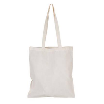 Эко-сумка для покупок хлопковая с длинной ручкой 370×410 мм , фото 2