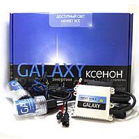 Комплект ксенона Galaxy H1 5000K AC. Ксенон моно. Полный установочный комплект.