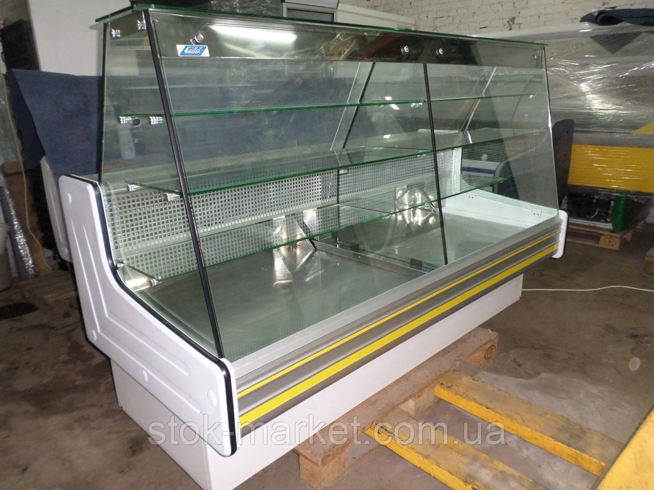 Кондитерская холодильная витрина Cold C-20G б/у, холодильная витрина для кондитерских изделей, кондитерка Cold