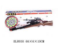 Ружье лазерное (арт. XZ-H35), пластик, приклад с / муРужье лазерное (артзыкой, светм 66x6x19см JAMBO 100277188